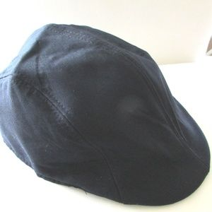 Other - Navy Blue Driver Style Hat New w/o Tag